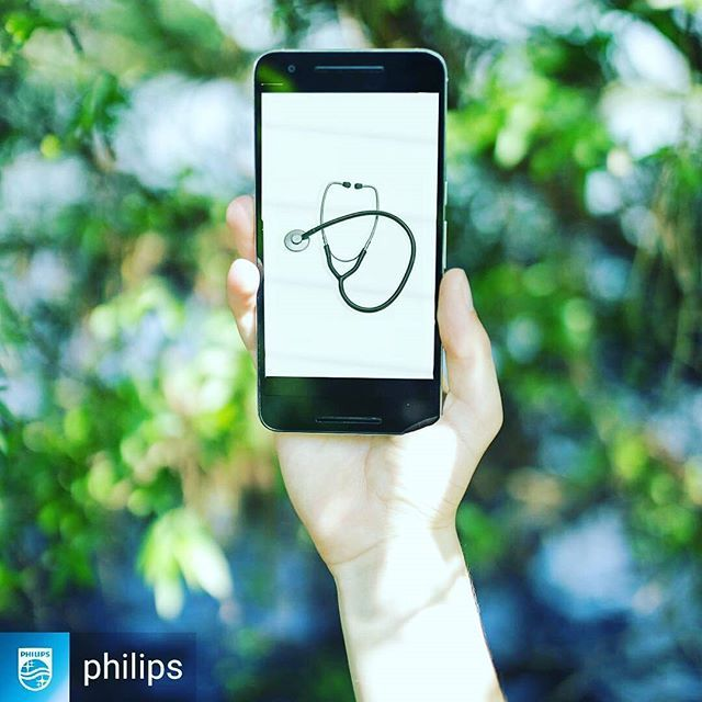 @Regrann from @philips -  Is #technology changing the way you approach your #health? - #regrann