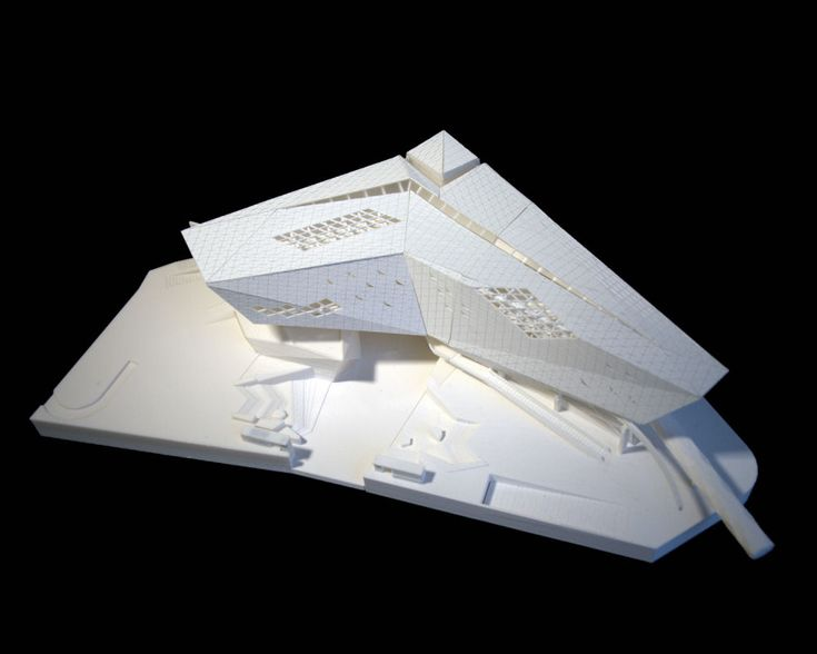 Architectural Model - FWFOWLE Architects |Museum of the Built Environment in Riyadh, Saudi Arabia