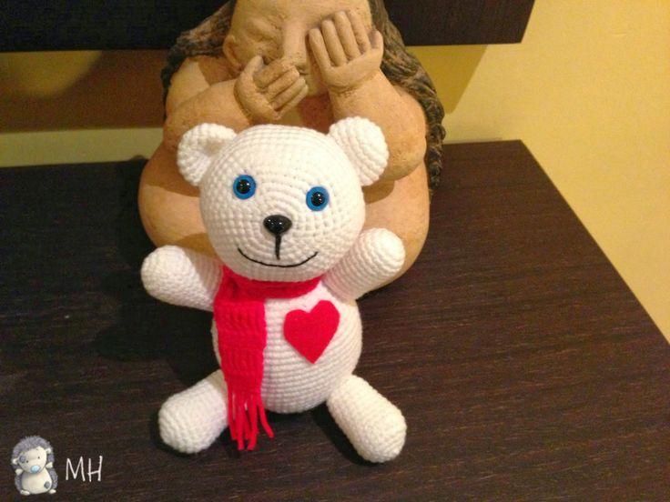 Osito Teddy navideño