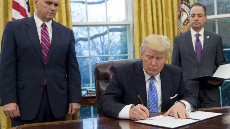 Trump executive orders so far