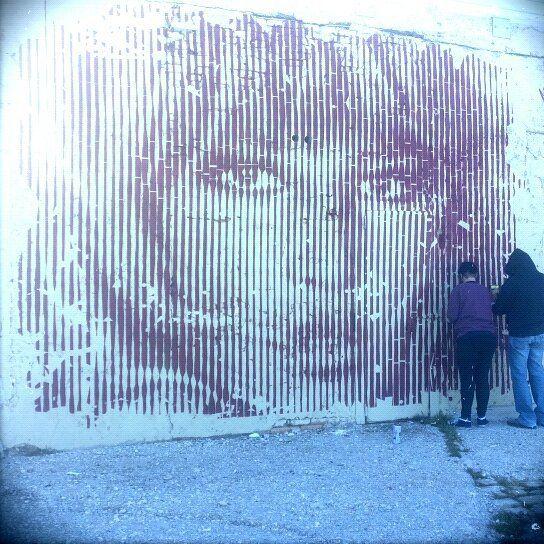 La bellissima Monica Vitti di ICKS al porto di Ancona lanterna rossa <3  #anconacrea #anconacrea2016 #art #streetart #urbanart #wallpainting #mural #ancona #streetartancona  #arteincittà #arteurbana by anconacrea