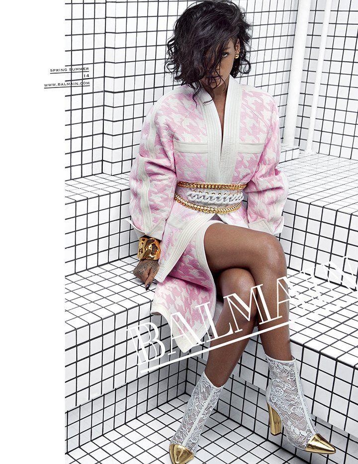 rihanna Fashion 2014 Tumblr | Rihanna for Balmain: stylewatch | Fashion | theguardian.com