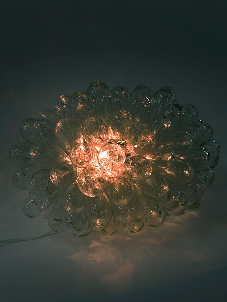 H.P.DECO 好奇心の小部屋  泡ランプ S クリア