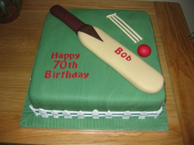 Cricket cake by christine morgan, via Flickr