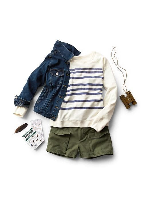 Women's Clothing: Women's Clothing: featured outfits shorts   Gap
