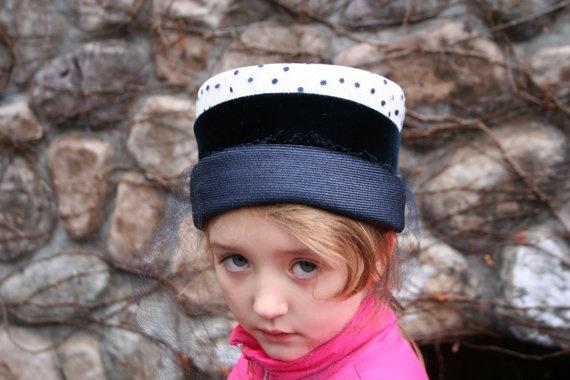 50s oppenheim collins pillbox hat, etsy