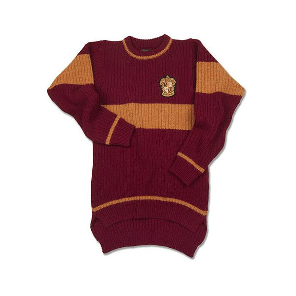 Gryffindor Quidditch Adult Sweater (345 BRL) ❤ liked on Polyvore featuring tops, sweaters, harry potter, gryffindor, lambswool sweater, purple top and purple sweater