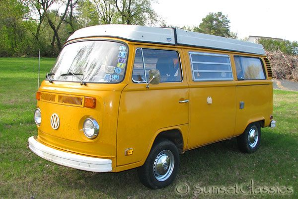 If this is the kind of thing your father is into, you are a lucky child of a man with taste...and a taste for ADVENTURE.   1976 VW Westfalia for Sale