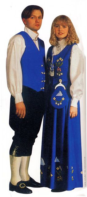 FolkCostume&Embroidery: Overview of Norwegian costume, part 4 The North, Svalbard