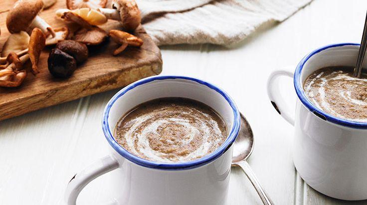Wild Mushroom & Chestnut Soup - https://www.yeovalley.co.uk/recipes/wild-mushroom-chestnut-soup