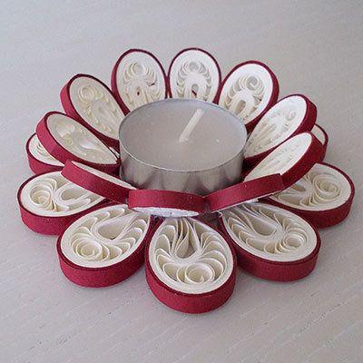 Portacandela fiore tondo, by Unica creazioni, 4,20 € su misshobby.com