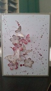 Stampin Up Petite Petals   Papillon Potpourri   Gorgeous Grunge