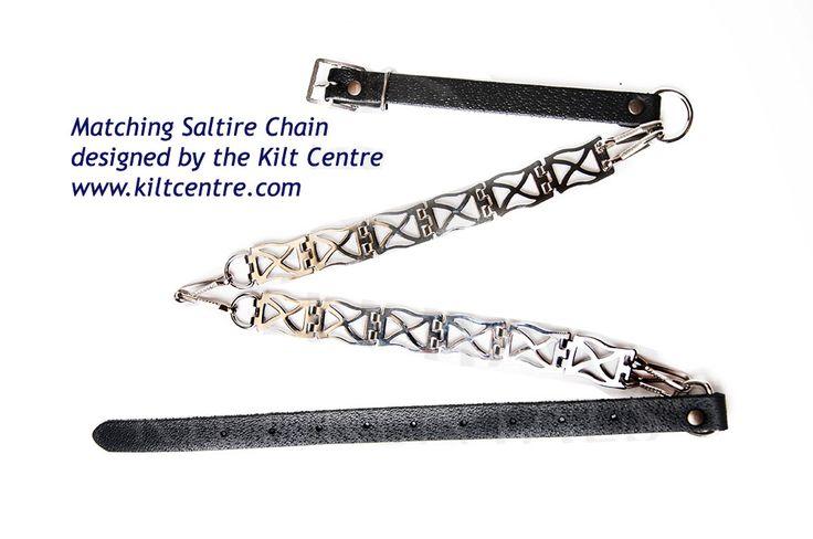 Luxury matching sporran chain