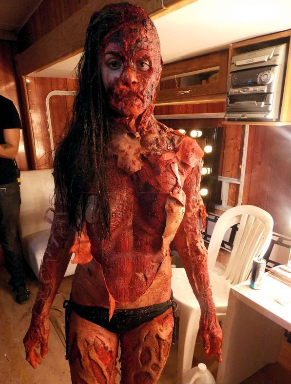 Great Make Up From Cabin Fever Patient Zero 2014 Horror Today