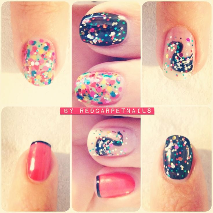 #ontrendnails  #fashion  #london #summer2013  #colours here are some more styles Manicurism have done this week. Seems sparkle is very popular. Book now