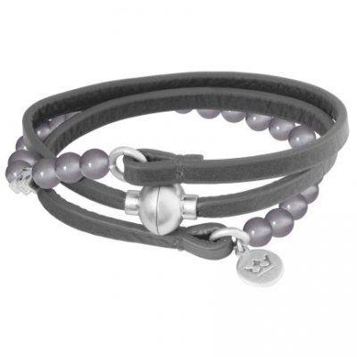 Sence Copenhagen - Armband Hybrid Grå Silver