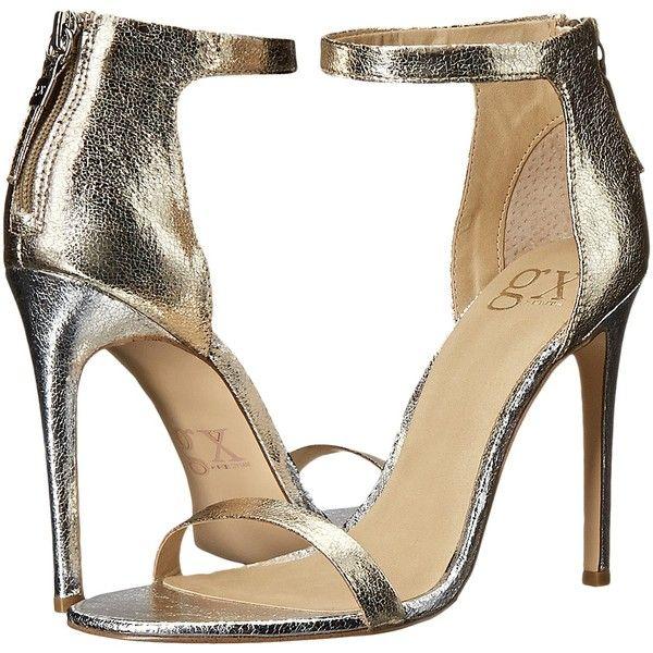 1000  ideas about Gold High Heel Sandals on Pinterest | Gold