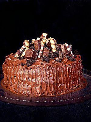 I adore cinnamon- subiektywny blog kulinarny o zapachu cynamonu: Kwintesencja czekoladowego tortu