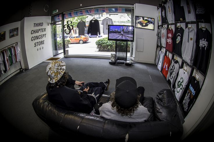 """Third Chapter's First Concept Store. This Store Featured Our """" By  Any Means Necessary"""" Collection."""