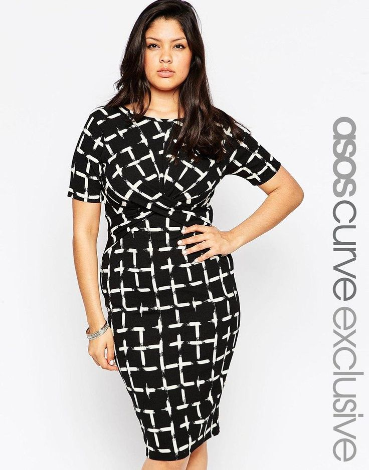 Asos club l black dress 3x