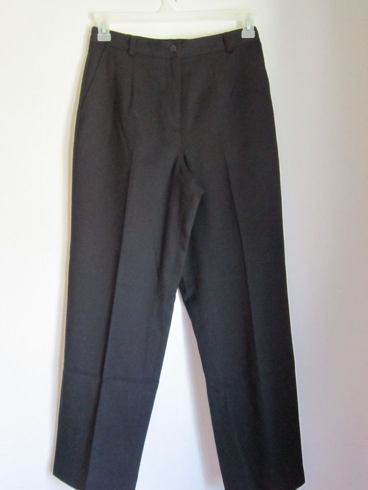 Apple Seed's Petites Black Slacks Size 10P NWT Super nice! #AppleSeedsPetites #DressPants   NEW LOWER PRICES $$ ON LOTS OF GREAT ITEMS! HURRY SHOP NOW!