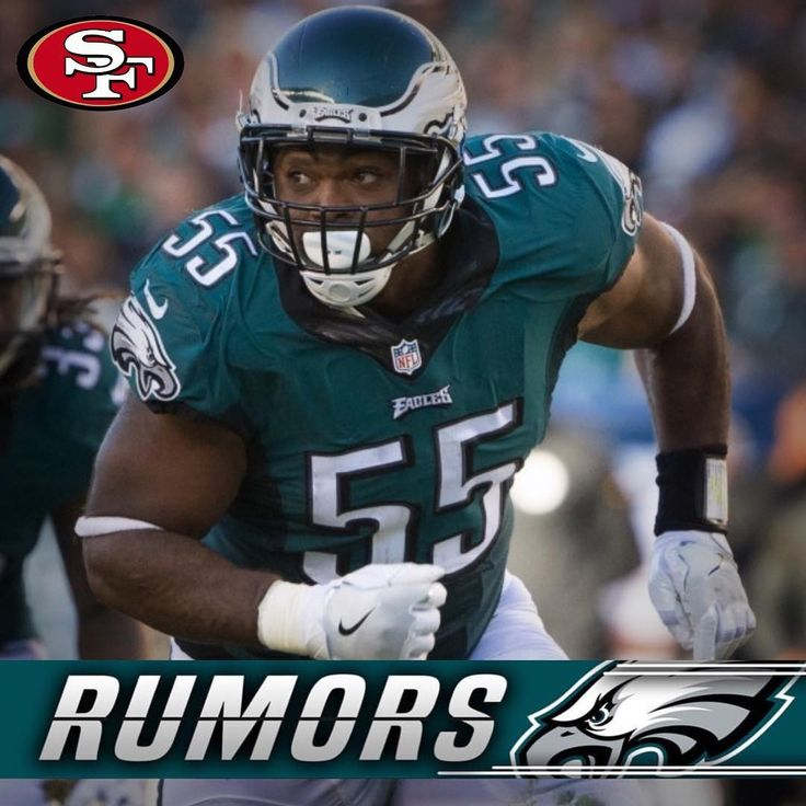 RUMORS: The San Francisco 49ers reportedly have interest in trading for DE Brandon Graham. Its unlikely the Eagles will move on from him unless they have high compensation in return.  #EaglesNation #FlyEaglesFly #Philadelphia #Philly #GangGreen #BleedGreen #PhiladelphiaEagles #NFL