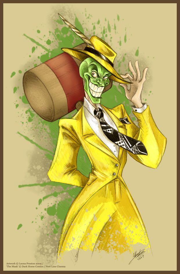 The Mask by `Leopreston on deviantART