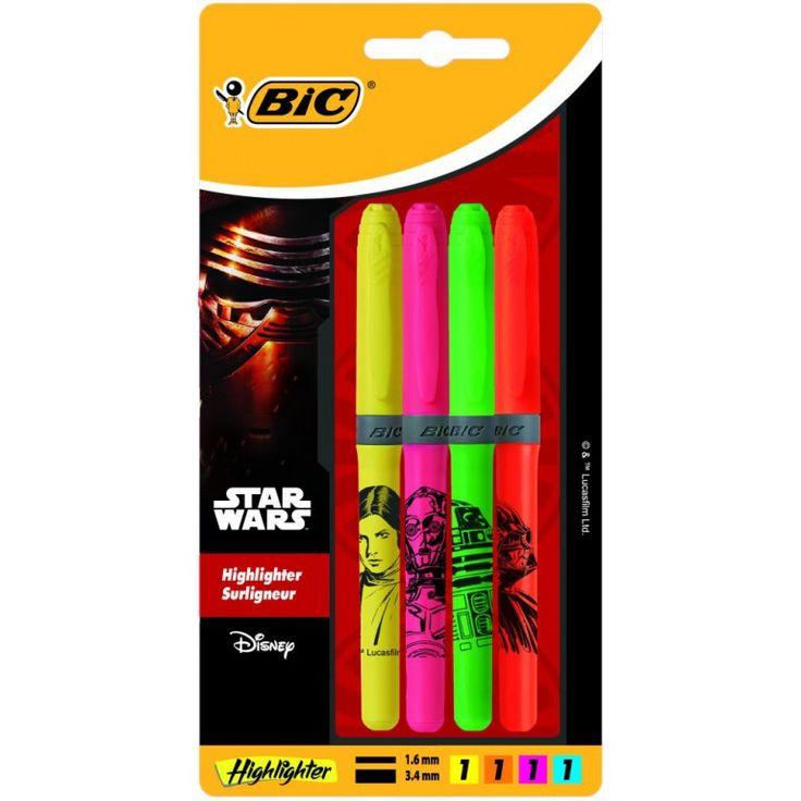 Bic Markeerstiften - Star Wars