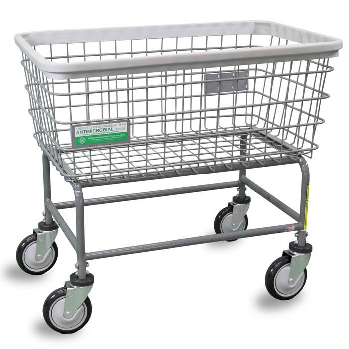 Antimicrobial Large Capacity Laundry Cart Laundry Cart Coin
