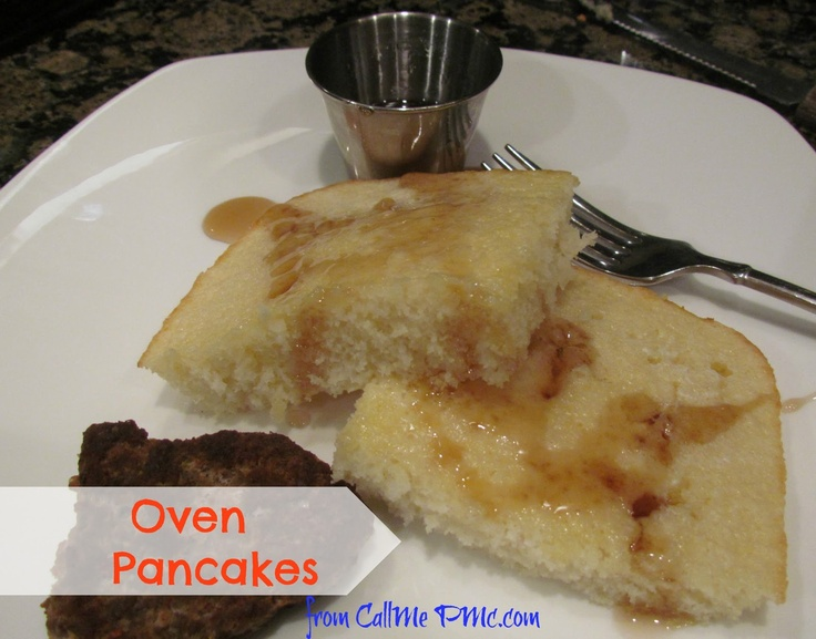 Time-Saving Oven Pancakes by Call Me PMc #oven #pancakes So much ...