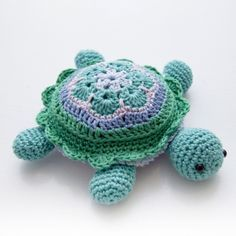 Sea Turtle Free Amigurumi Crochet Pattern
