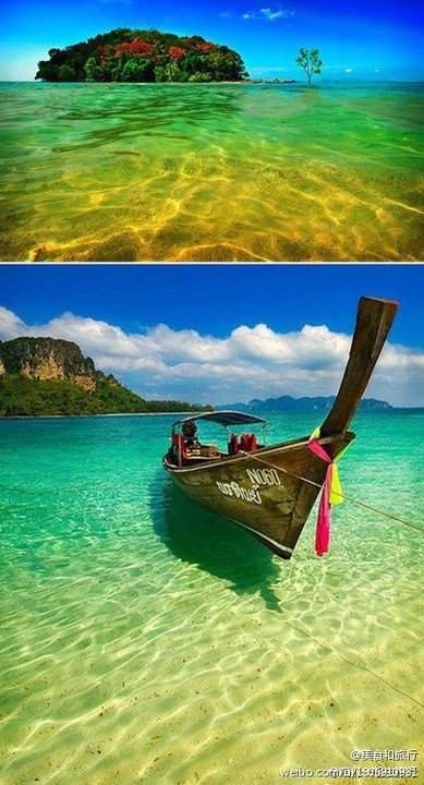 Thailand.: Thailand Honeymoons, Clear Water, Blue Sky, Favorite Places, Places I D, Buckets Lists Travel, Poda Islands, Thailand Travel, Krabi Thailand