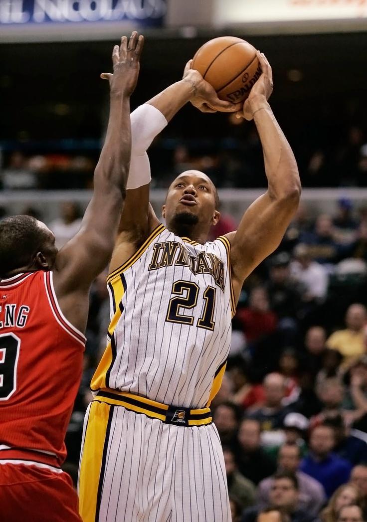 David West Bulls vs Pacers