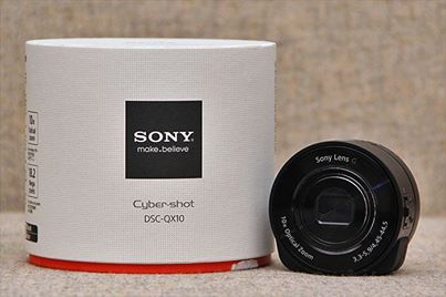 """The new Sony Cyber-shot DSC-QX10 definitely fits that description. The Sony QX10 is officially called a """"lens-sensor module"""", and it's designed to be the perfect partner for your smartphone, rather than a standalone device. Essentially, the QX10 comprises an image sensor and a lens, but doesn't have a screen, instead relying on being paired to your smartphone via a wi-fi connection  Check it out today - price $399"""