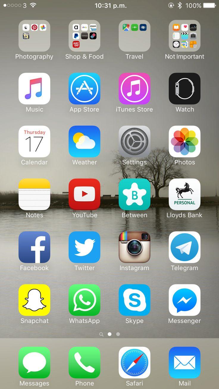 50 iphone 7 plus home screen layout vo9b di 2020