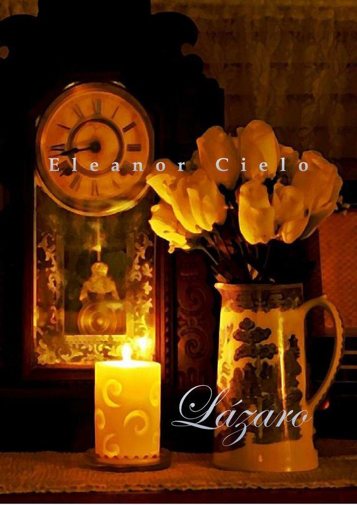 'Lázaro' de Eleanor Cielo.  Homoerótica, gay, yaoi, LGBTI, BL, literatura, homoerotismo.