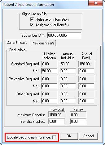 Updating social insurance information