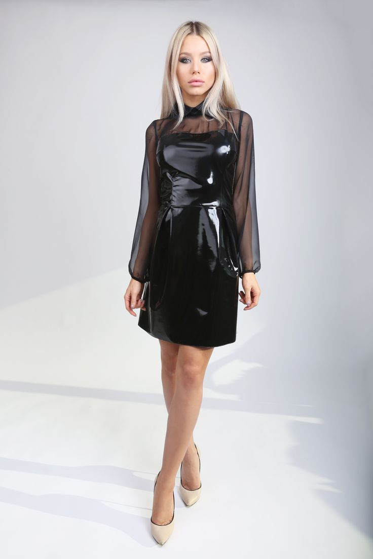 Black Latex Dress! http://www.noire.ro/product/black-latex-dress/