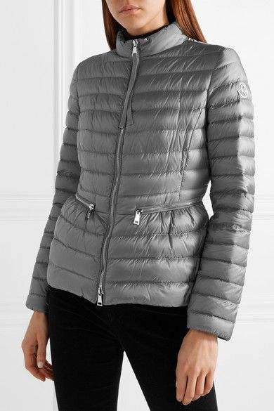 390f91cca26d Moncler - Quilted Shell Down Jacket - Gray