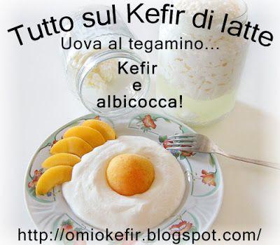 Tutto sul Kefir di Latte: Ricetta con il kefir di latte: divertente uova a s...