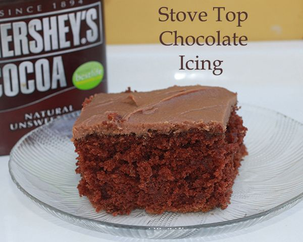 Easy to make delicious chocolate icing! Nothing to run out and buy, most bakers will have the ingredients handy in the pantry.