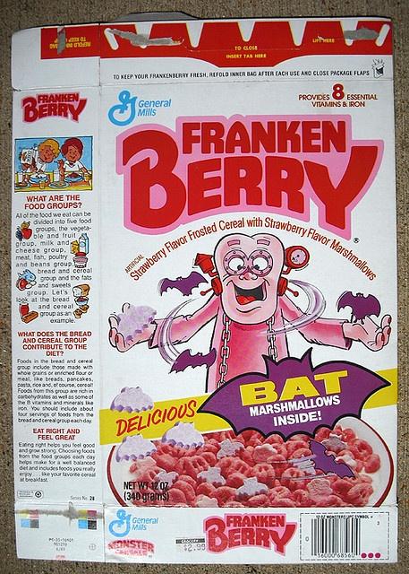 FrankenBerry Cereal (1987 box)