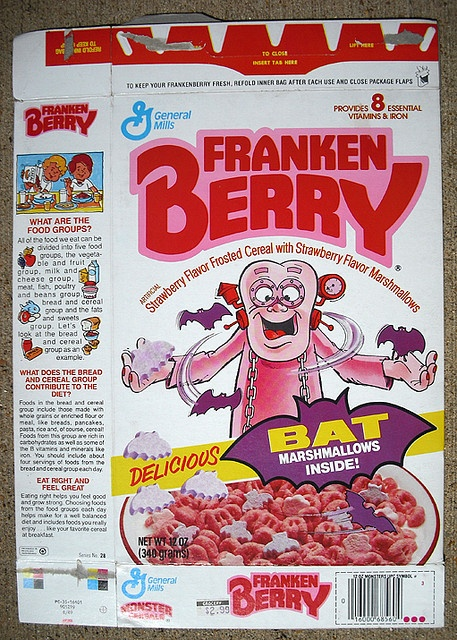FrankenBerry Cereal (1987 box)