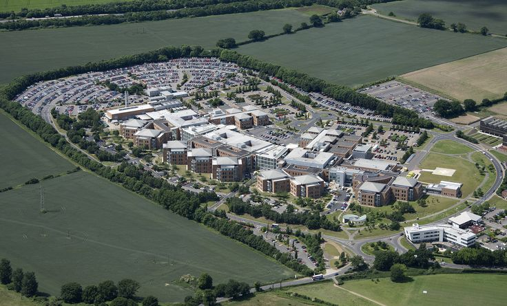 Norfolk and Norwich University Hospital - UK aerial image | by John D F