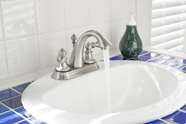 Standard Size For The Drain Hole In A Bathroom Sink Hunker Bathroom Sink Drain Sink Bathroom Sink Decor