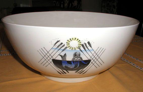 Eric Ravilious boat race bowl
