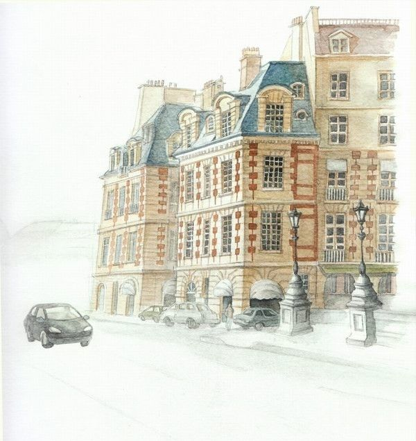 Best Drawing Styles Architectural Sketches Images On Pinterest