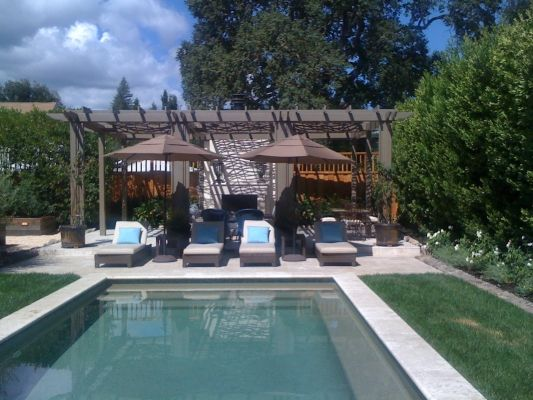 60 best images about pool scape ideas on pinterest pool waterfall swimming pool designs and for Swimming pool contractors san francisco bay area