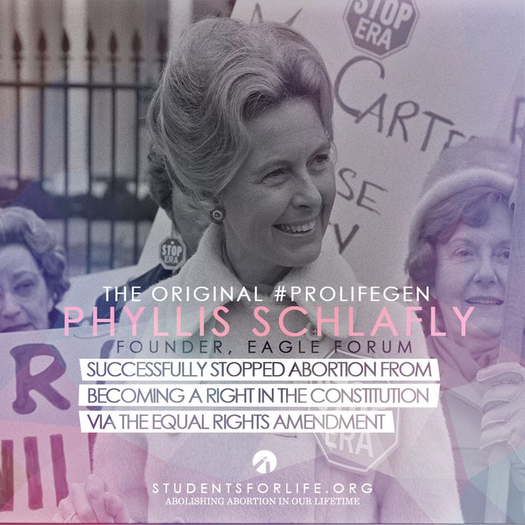 Conservative Icon and Pro-Life Warrior Phyllis Schlafly Dead at 92 | Students for Life