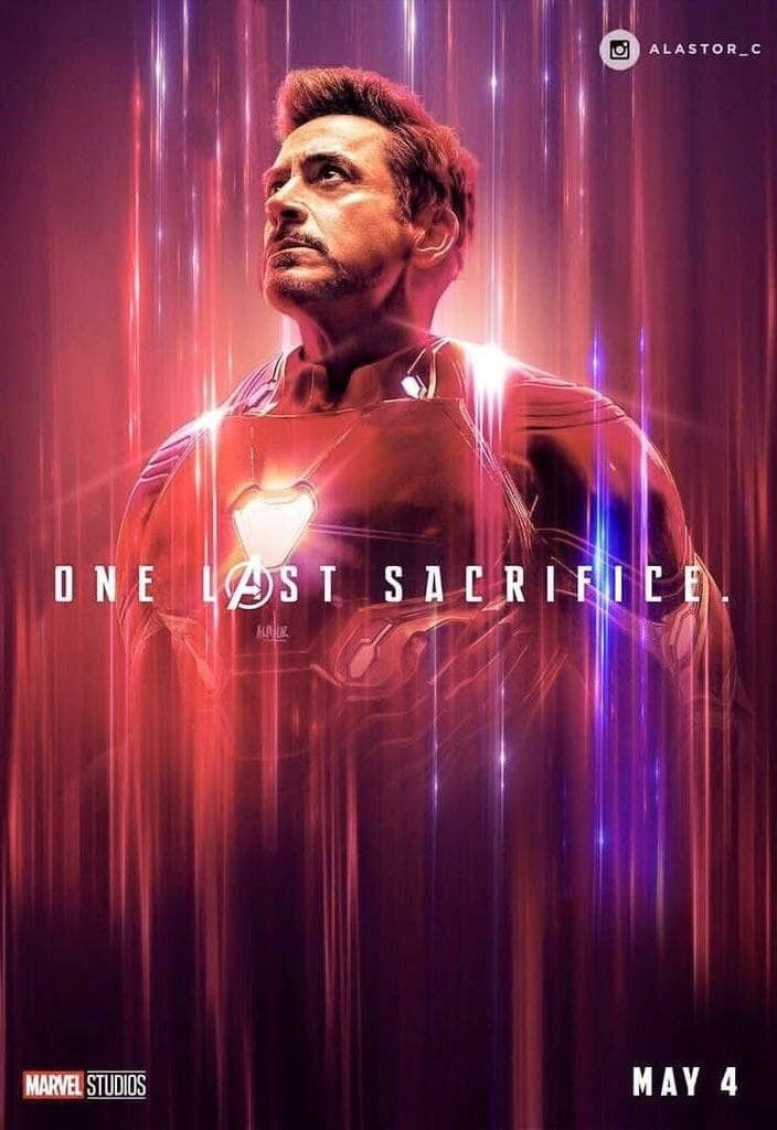 Avengers Endgame One Last Sacrifice Iron Man A K A Tony Stark